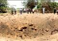 El impacto del meteorito causó un cráter de unos 12 metros de diámetro y 5,5 metros de profundidad, que permanece intacto