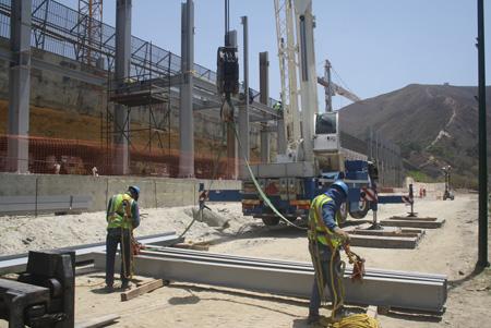 Continúan labores de construcción de la estación Ayacucho de la Línea I del Metro Los Teques