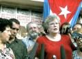 La reverenda estadounidense se encuentra en La Habana invitada por el Seminario Evangélico de Teología de la provincia occidental de Matanzas, y su última visita conocida a la isla tuvo lugar en 2013