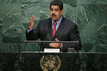 """Nicolás Maduro, abogó este domingo en favor de """"una transformación rotunda de los sistemas económicos"""" como condición para la implementación de la nueva agenda para el desarrollo que está impulsando la ONU"""