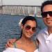 Reyes se casó con la colombiana en una boda sorpresa playera