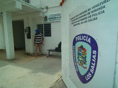 Polisalias colaboró con el traslado de la víctima al nosocomio local