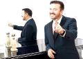 El humorista británico Ricky Gervais aceptó este lunes el reto de presentar de nuevo los Globos de Oro