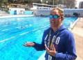 Desde tempranas horas de la mañana, nadadores de varios municipios asistieron a la piscina municipal para establecer su marca.