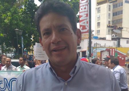 """Rojas: """"Se siguen sumando voluntades a través de esta expresión pacifica que mostrará la unión cívica de los venezolanos"""". ARCHIVO"""