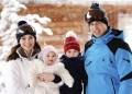 Guillermo y Kate con sus hijos