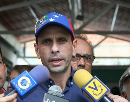 El gobernador de Miranda, Henrique Capriles. ARCHIVO