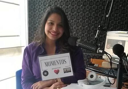 ) María Alejandra Gómez Retali es la cara detrás de la voz de Momentos.