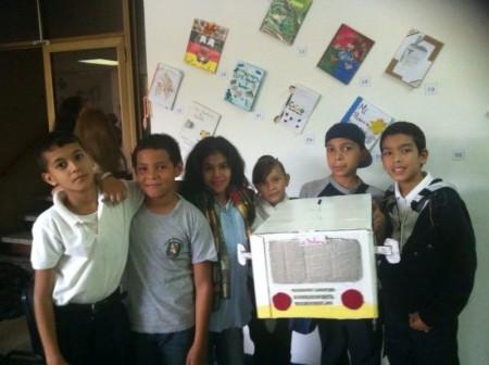 Con escritura y narración de cuentos participaron estudiantes altomirandinos.