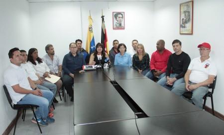 Bloque de la Patria se manifestó en contra del gobernador