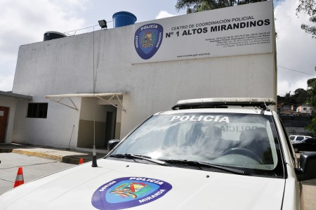 Funcionarios de la Policía del estado Miranda participaron en un dispositivo de seguridad especial