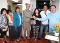 Alcalde José Luis Rodríguez cumple con los vecinos carrizaleños, en esta oportunidad hizo entrega de la llave de la caseta de vigilancia