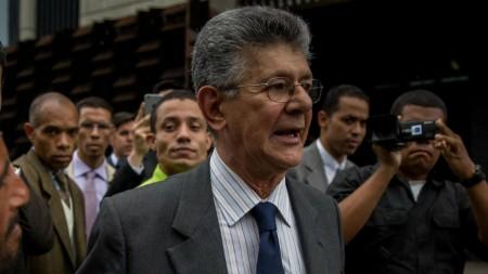 El presidente de la Asamblea Nacional, diputado Henry Ramos Allup