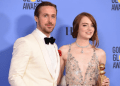Ryan Gosling y Emma Stone se llevaron el Globo de Oro a Mejor actor y actriz musical o comedia