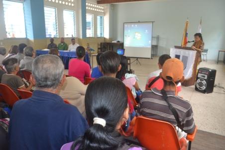 El invitado especial, Claudio Faria dijo que la cátedra itinerante tiene como fin analizar la vida de este importante líder bolivariano