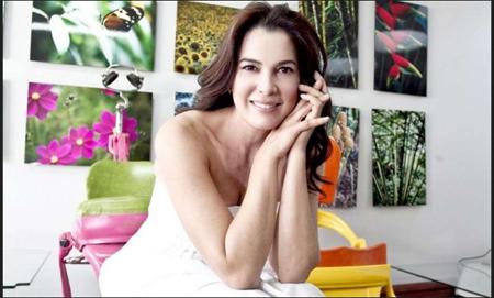 """La actriz y modelo, Ruddy Rodríguez, confesó En Íntimo de Globovisión que aunque, como relata su más reciente monólogo, se considera """"Una mujer con suerte"""""""