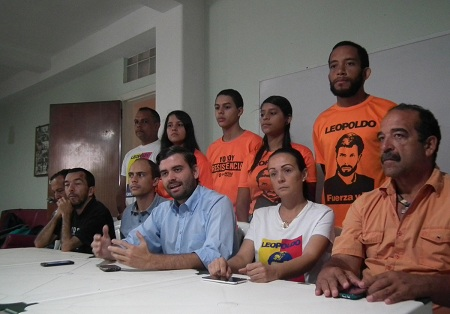 """Jesús González aseguró que la ruta la tiene """"clara la unidad""""  . Foto: Deisy Peña"""