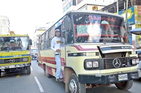 Transportistas tenían varias semanas cobrando el aumento en Guaicaipuro