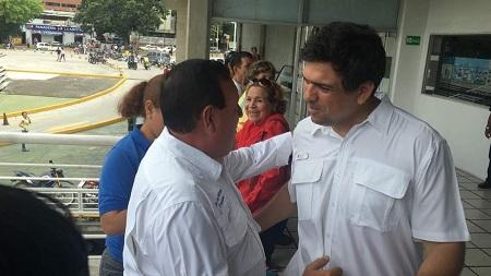 Rodríguez aseguró que trabajará en conjunto con Ocariz para ganar la Gobernación de Miranda el 15 de octubre.