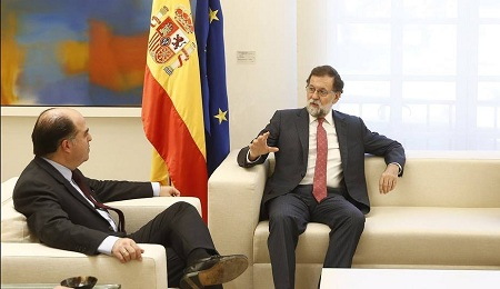 Gobierno español se compromete a trabajar para abrir un canal humanitario para atender las necesidades básicas de Venezuela