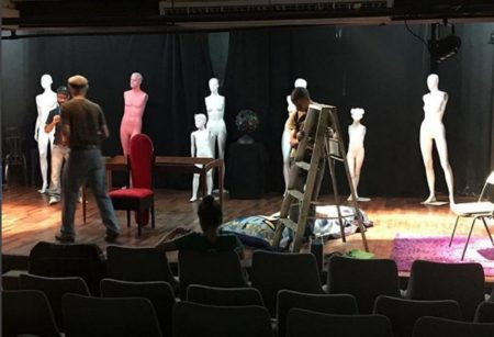 Ahora los altomirandinos cuentan con una sala de teatro.
