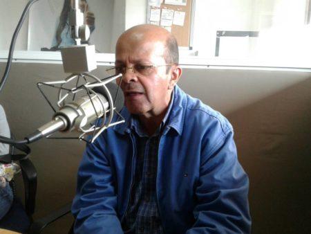 """Montes De Oca participó en el programa de opinión """"Pola y Murolo a las 12"""" que transmite Mía 105.7Fm."""