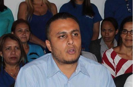 Oscarber Luzardo, secretario de organización juvenil de Acción Democrática