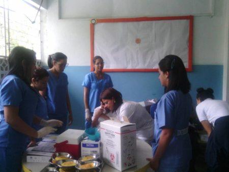 Niños fueron beneficiados con jornada de salud