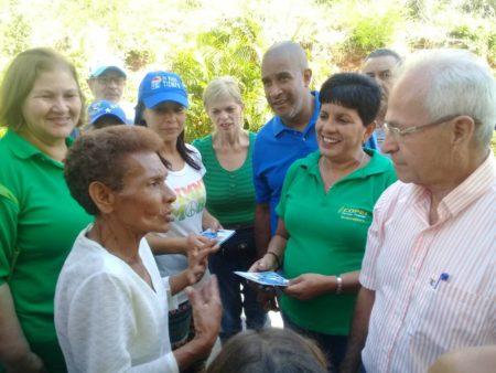 Candidato unitario de Guaicaipuro recorrió Variantes de Guaya