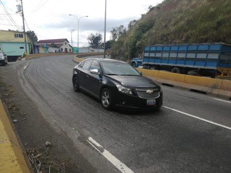 Mas de un mes esperando el asfalto llevan usuarios de la Panamericana