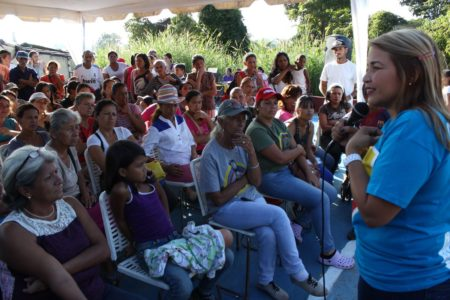 """""""Es una gran responsabilidad ser la primera alcaldesa de Guaicaipuro"""""""