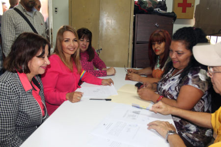 Wisely Álvarez es la candidata del PSUV a la Alcaldía de Guaicaipuro