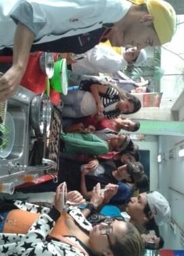 Trabajadores universitarios participaron en la actividad