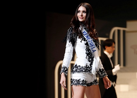 La venezolana Diana Croce, segunda finalista en Miss Internacional 2017