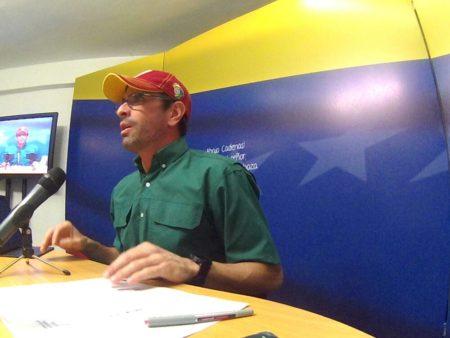 Capriles: Estamos en el peor momento de la política