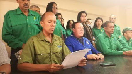 En rueda de prensa copeyanos rechazaron candidatura del ex alcalde de Los Salias, Ovidio Lozada.