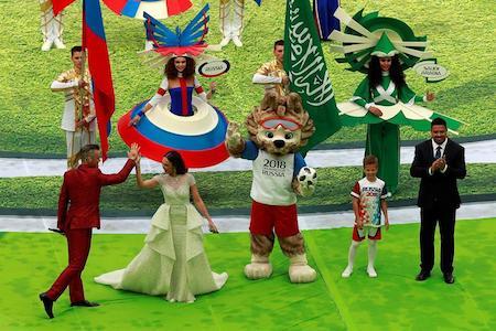 Rusia inaugura el Mundial de fútbol con ceremonia boicoteada por Occidente