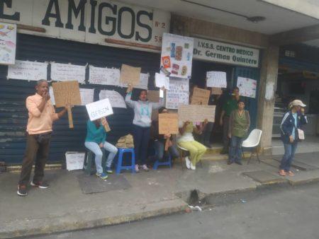 Protesta del miércoles en ambulatorio de Los Teques