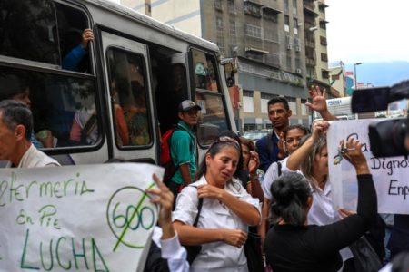 Ola de protestas se registran por el tema salud y servicios publicos. Foto archivo