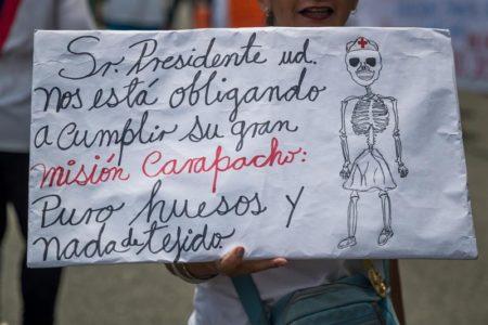 Obispos venezolanos apoyan protesta de trabajadores de la salud por salarios
