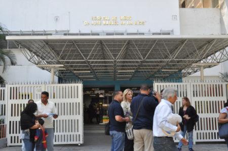 Hospital J.M. de los Ríos se suma al paro convocado por el gremio de enfermeros