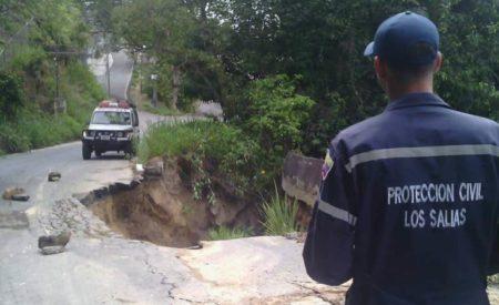 Ruptura de tubería de Hidrocapital provocó colapso en Los Salias