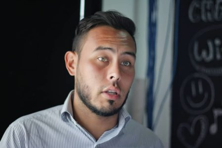 Edgar Laya, dirigente municipal de Los Salias