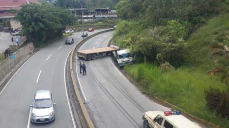 Accidente km 14 de la Panamericana. Foto: Luis Sajaro