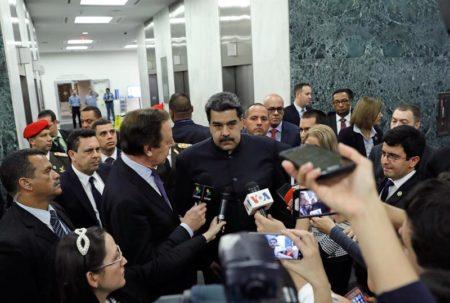 "Maduro dice que obtuvo ""victoria total"" en la Asamblea General de la ONU"