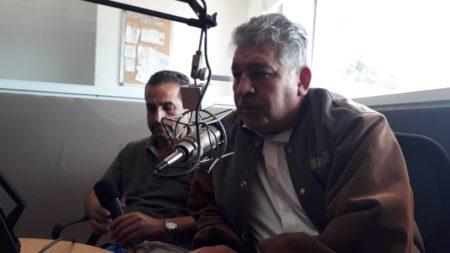 """Jiménez y Perdomo participaron en el programa """"Pola y Murolo a las 12"""" que transmite Mía 105.7Fm."""