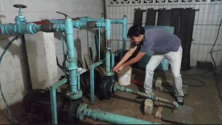 Falta de servicio de agua en Ramo Verde  desata conflicto entre los residentes
