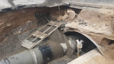 Válvula rota de Hidrocapital entorpecen labores en Obra de la Perimetral de Los Salias