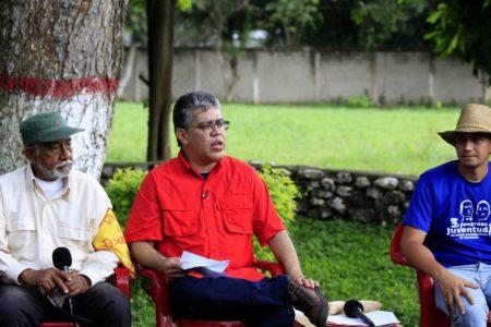 Elías Jaua: El pueblo tiene que defender lo que Chávez dejó en nuestras manos