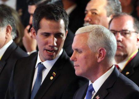 """EEUU avisa a Maduro que dañar a Guaidó sería """"una de sus últimas decisiones"""""""